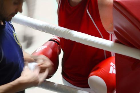 Lähikuvaa nyrkkeilystä