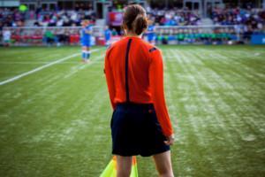 Tuomari naisten jalkapallon MM-kilpailuissa